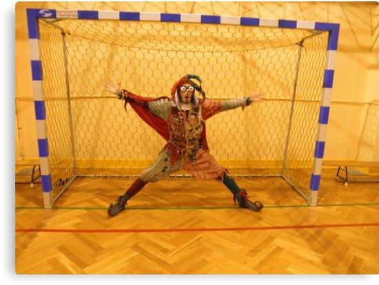 Fool Playing Soccer by jollykangaroo