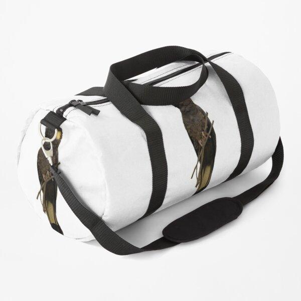Yellow-tailed Black Cockatoo Duffle Bag