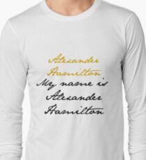 Alexander Hamilton Langarmshirt