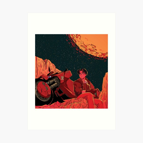 131KIRA - iKON B.I x AKIRA  Art Print