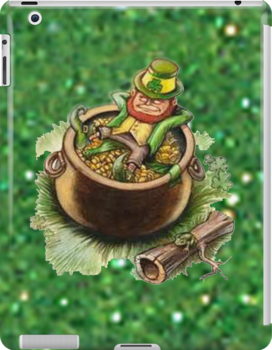 St.Patrick's Day iPad Case by Catherine Hamilton-Veal  ©