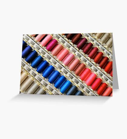 Colors Of The Rainbow, Thread By Thread Greeting Card