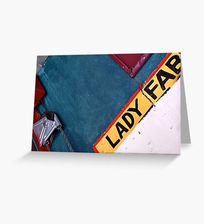 Lady Fab Greeting Card