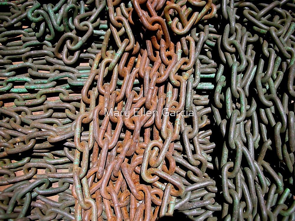 Gaffer's Chains by Mary Ellen Garcia