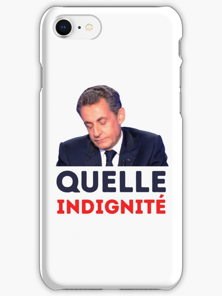 Sarkozy Iphone Case Cover By Valgoux Redbubble