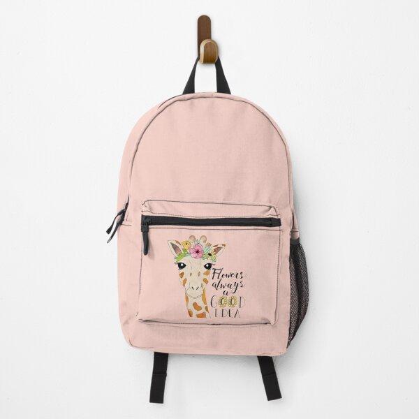 Daisy Rucksack Watercolor Art Watercolor Daisy Flower Art Beach Backpack Flower Backpack Daisy Flower Backpack
