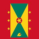 Grenada Flag by pjwuebker