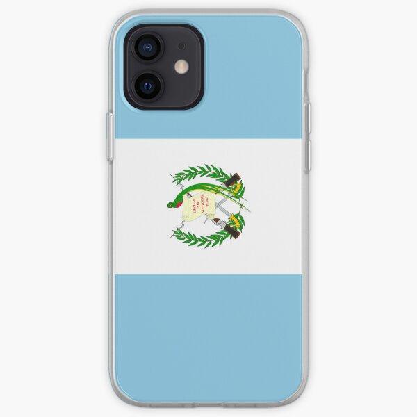 Bandera de Guatemala Funda blanda para iPhone