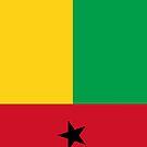 Guinea Bissau Flag by pjwuebker