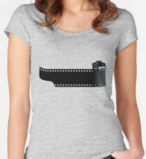 35mm Film Women's Fitted Scoop T-Shirt