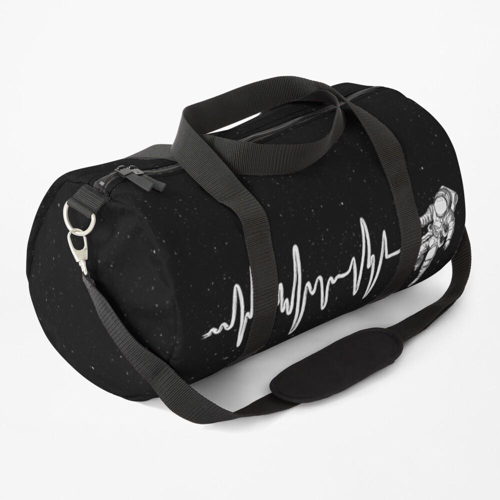 Space Heartbeat Duffle Bag