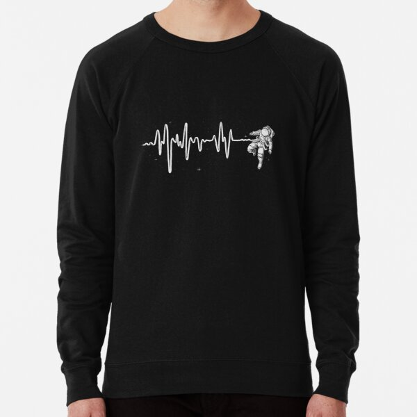 Space Heartbeat Lightweight Sweatshirt