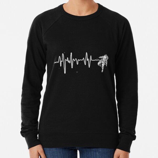 Space Heartbeat Lightweight Sweatshirt