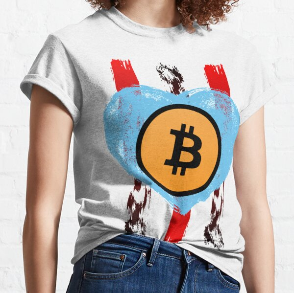 Love Bitcoin Classic T-Shirt