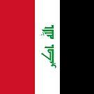 Iraq Flag by pjwuebker