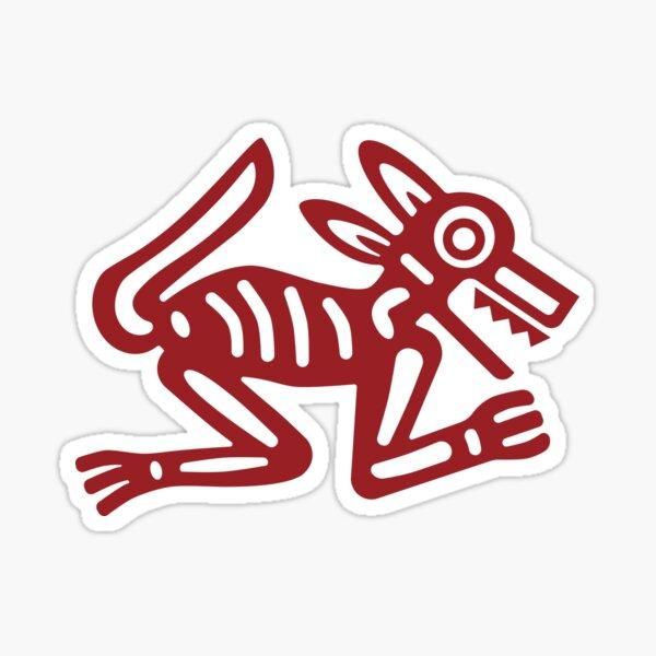 Wolf: North: Blood Orange Sticker