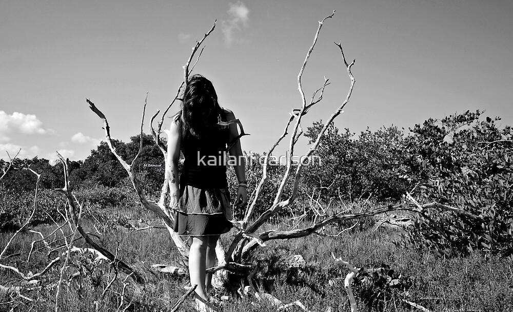 "Self Portrait- ""Hang"" by kailani carlson"