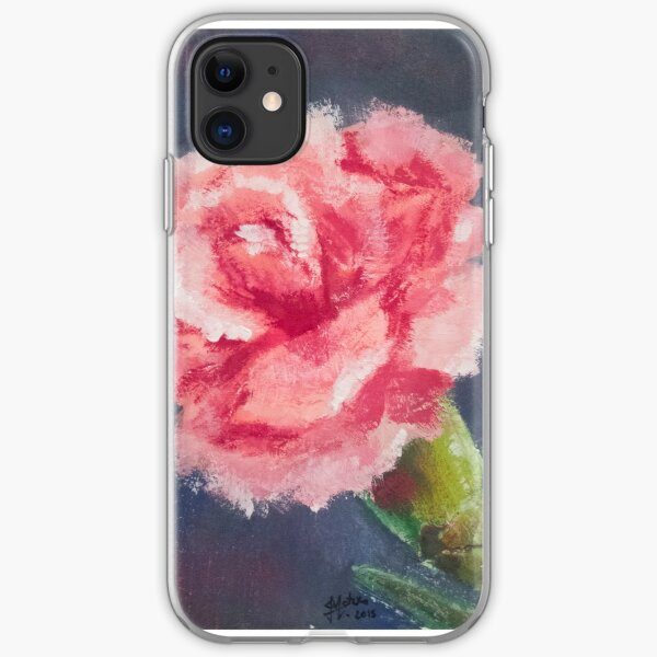 Carnation iPhone Soft Case