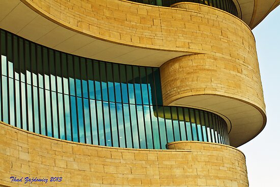 National Museum of the American Indian by Thaddeus Zajdowicz
