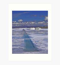 SALT LAKE Art Print