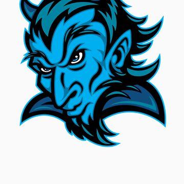 BLUE DEVIL by SmittyArt