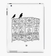 Birds on a screen iPad Case/Skin