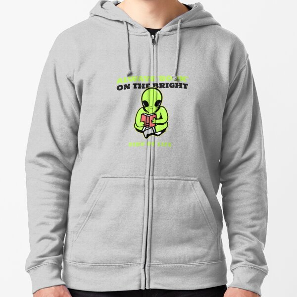 Bright Side Of Life Zipped Hoodie