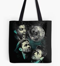 The Mountain Team Free Will Moon - Supernatural Edition Tote Bag