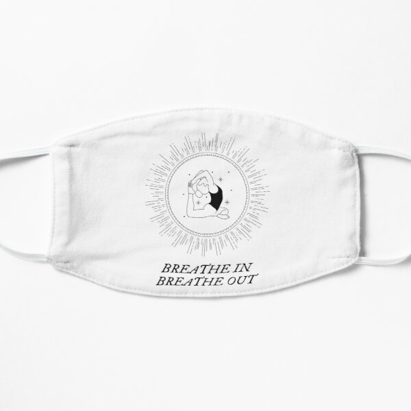 Yoga - Breathe In Breathe Out Mask