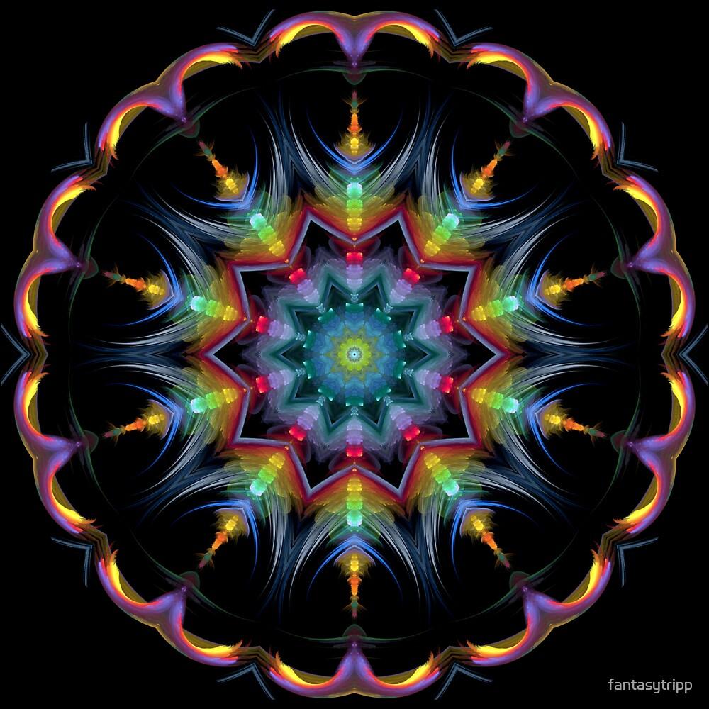 Color Blur Kaleidoscope 02 by fantasytripp