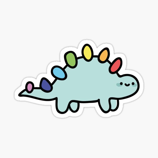 stegaysaurus Sticker