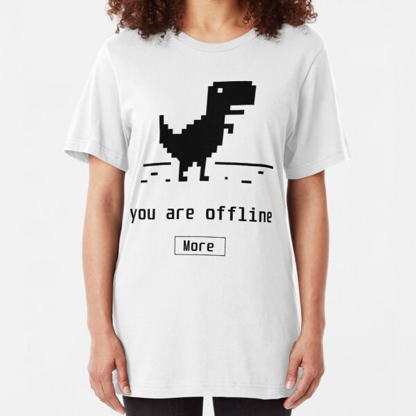You are offline Slim Fit T-Shirt