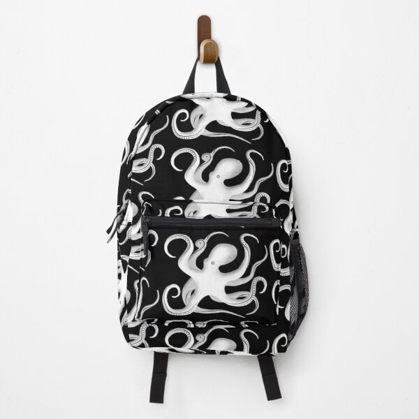 Octopus Silhouette Backpack