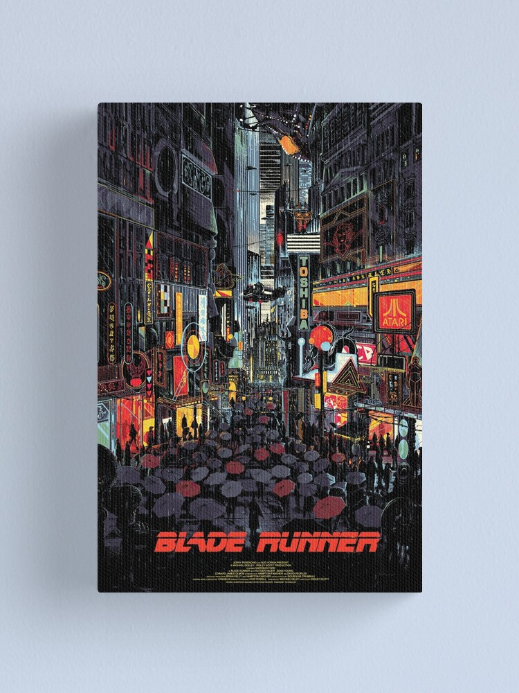 Alternate view of Blade Runner Canvas Print