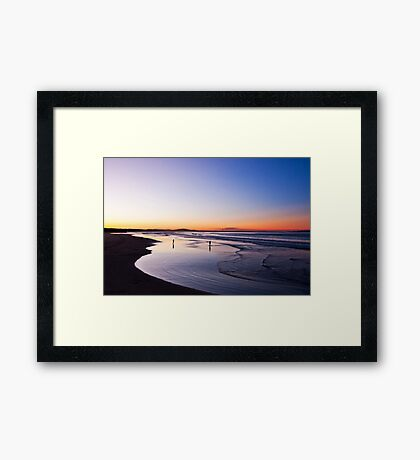Nothing to prove Framed Print