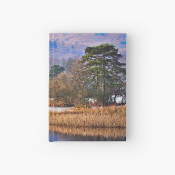 Rydal Water, England's Lake district Hardcover Journal