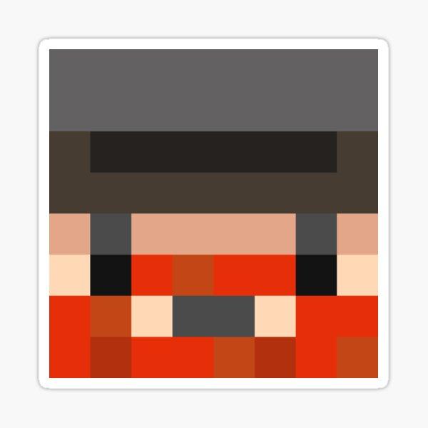 Honeydew Minecraft skin - Yogscast Simon face Sticker