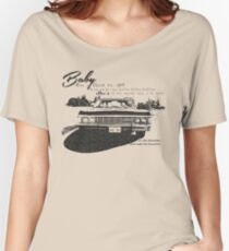 Baby Supernatural 67 Impala Women's Relaxed Fit T-Shirt