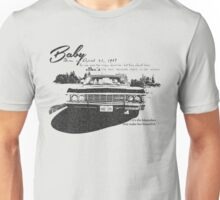 Baby Supernatural 67 Impala Unisex T-Shirt