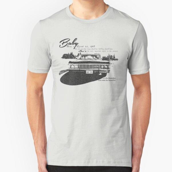 Baby Supernatural 67 Impala Slim Fit T-Shirt