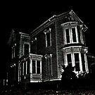Haunted House At Waterloo Village, Byram Township NJ, USA by Jane Neill-Hancock