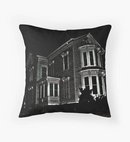 Haunted House At Waterloo Village, Byram Township NJ, USA Throw Pillow