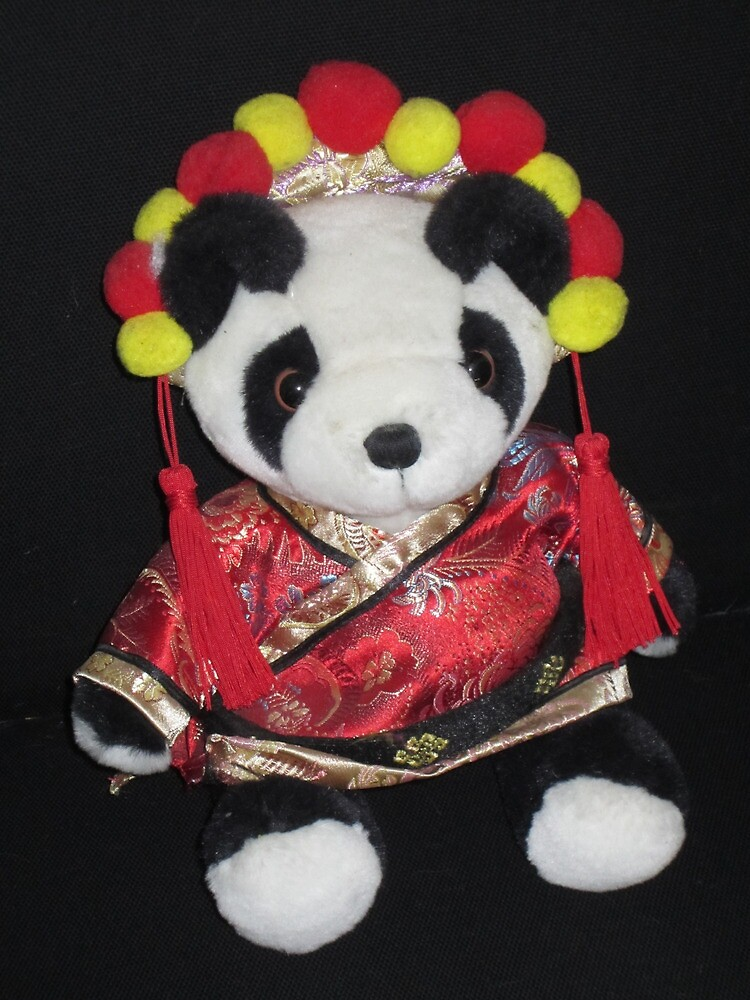 A Very Traditional Panda by v-something