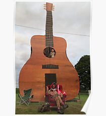 Play the Guitar Poster