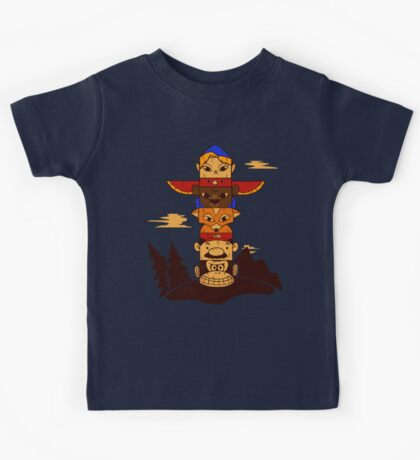 64bit Totem Pole Kids Clothes