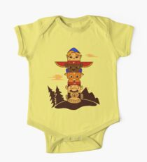 64bit Totem Pole One Piece - Short Sleeve