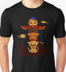 64bit Totem Pole Unisex T-Shirt