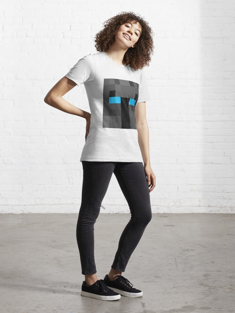 Alternate view of popularMMos Minecraft skin Essential T-Shirt