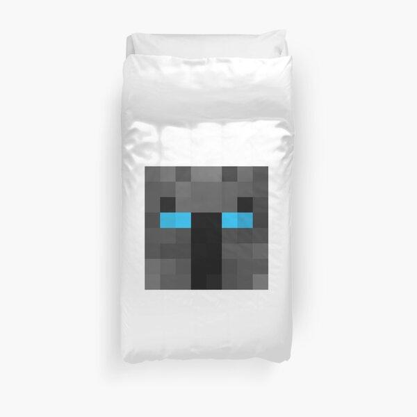 popularMMos Minecraft skin Duvet Cover