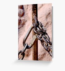 Chained Greeting Card
